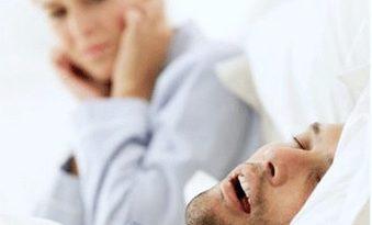 Snoring disease was indicted กรน เสียงร้องฟ้องโรค