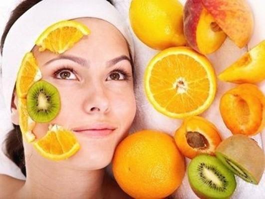 ลอกหน้าด้วยกรดผลไม้