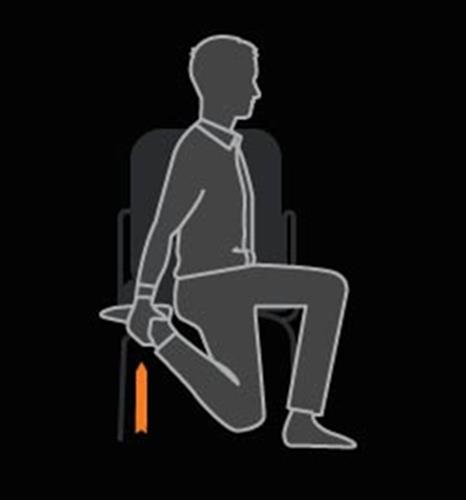"""ท่าออกกำลังกายบนเก้าอี้ ไม่ต้องลุกไปไหนก็ """"เฟิร์ม"""" ได้"""