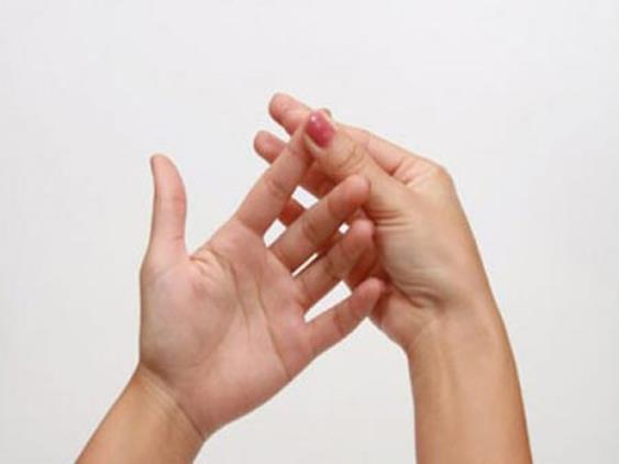นวดมือ บำบัดโรค