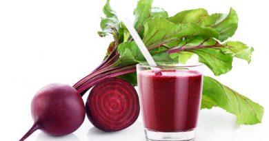 บีทรูท Fresh beetroot and juice