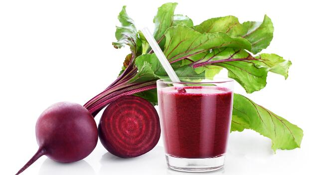 บีทรูท Fresh beetroot and juice