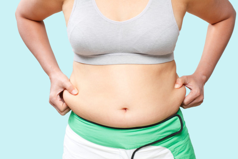 พุงยุบ belly-disappear
