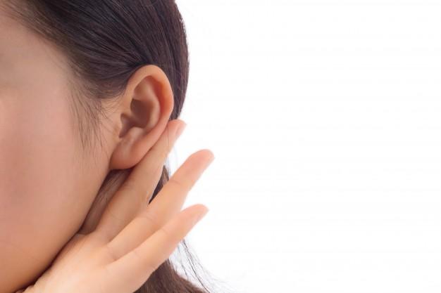 ดูแลหูให้ถูกวิธี Nosy curiosity ear young interesting